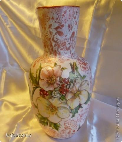 На цветы и листья-сверкающий декупажный клей фото 1