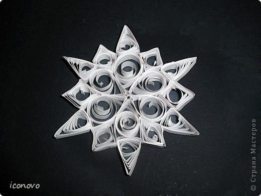 Хоть Новый год и позади,но добавляю ещё одну в коллекцию снежинок.  фото 5