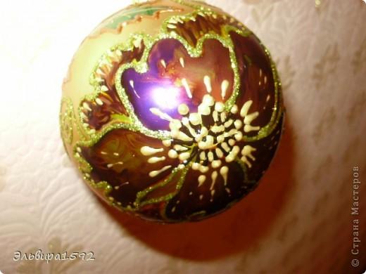 """новогодние шарики,""""цветы"""" фото 2"""