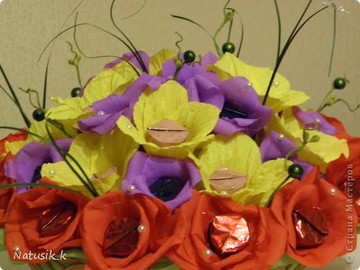 Корзиночка, 33 цветочка. фото 3
