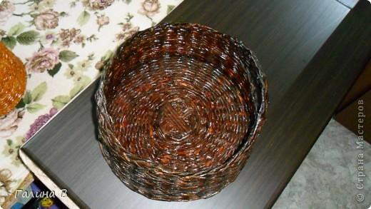 Добрый день.всем!!!Девочки,хочу показать  еще одну из первых моих плетеночек. фото 3