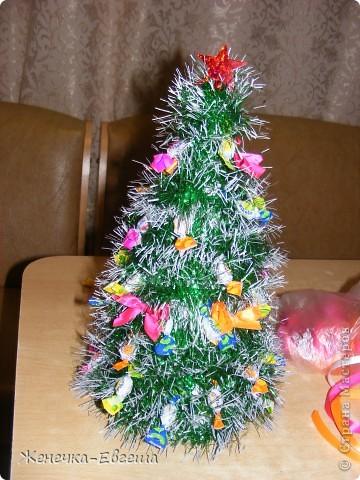 Какой же Новый год без елочки. Мастер классов по изготовлению елочек было уже много , поэтому кратенько. фото 1