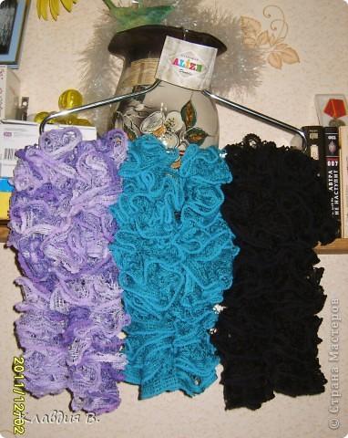 Мои любимые шарфики фото 5