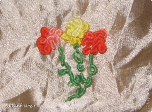 Для одной из поделок мне понадобилось небольшое панно с розочками. Я вспомнил, что много лет назад в школе, на уроках домоводства мы делали симпатичные вышивки. фото 6