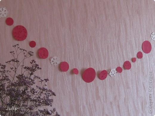 Гирлянда - украшение для Нового года или Дня рождения. фото 3