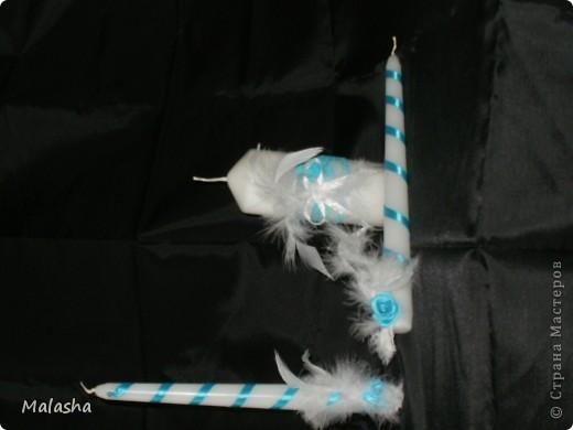 Бокалы, подушечка и корзинка для лепестков фото 5