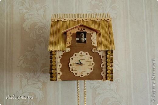 Часы с кукушкой как сделать из бумаги