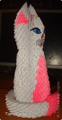Кошечка по МК с вашего сайта, это моя вторая работа)  фото 1