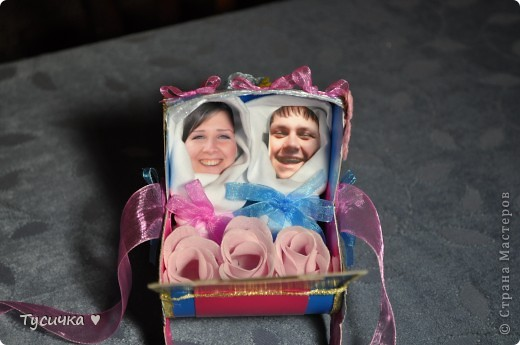 Вот эта коляска стала подарком маминым друзьям на свадьбу. фото 2