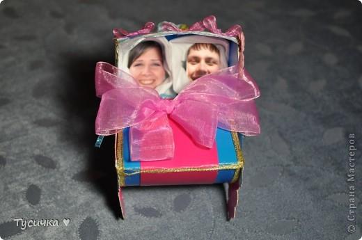 Вот эта коляска стала подарком маминым друзьям на свадьбу. фото 1