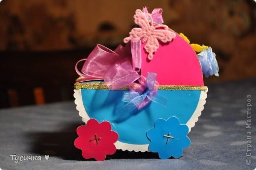 Вот эта коляска стала подарком маминым друзьям на свадьбу. фото 5
