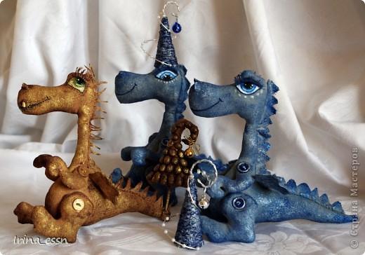 Водяные драконы готовятся к встрече Нового года фото 6