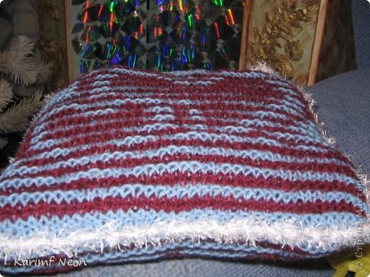 А ГДЕ ЖЕ СЕРДЕЧКИ??????? Про теневое вязание я уже писал. http://stranamasterov.ru/node/278275   Теперь небольшая поделка в этой технике. Решил сделать малюсенькую подушечку. фото 2