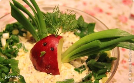 """Необычное сочетание продуктов - это салат """"Каприз"""". Рекомендую приготовить на новогодний стол, моим понравился. фото 5"""