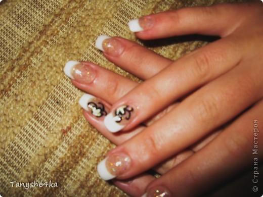 Рисунок на ногтях фото 2