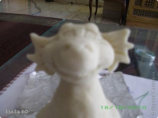вот такой дракончик получился для ребёнка, как он прасил зелёного. А Новый год 2012 как раз год зелёного дракона... фото 4
