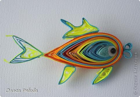 Поделки рыбки мастер класс