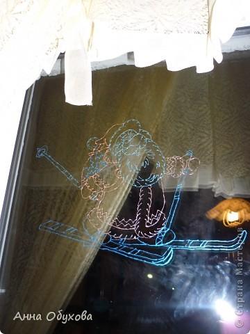 Роспись по стеклу фото 1