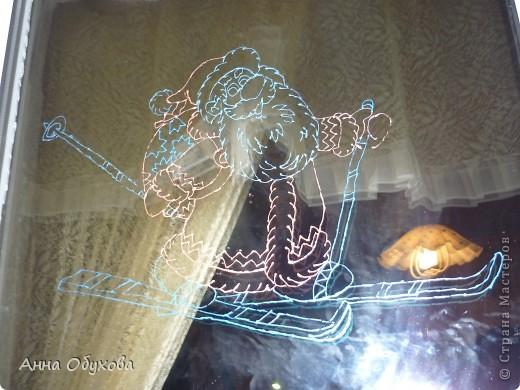 Роспись по стеклу фото 4