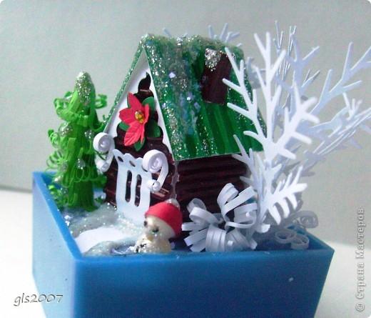 Новогодний домик фото 1