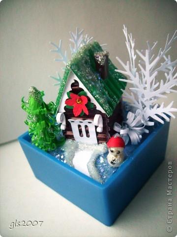 Новогодний домик фото 3