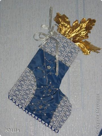Новогодние сапожки для подарков. Висят дома круглогодично. :) фото 2