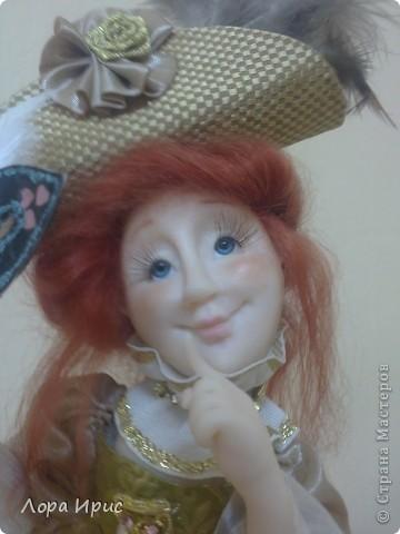 """Дорогие, Мастерицы! Давно хотела сделать куклу в стиле """"маскарад"""". И вот предоставляю на ваш суд новую  куклу. фото 2"""
