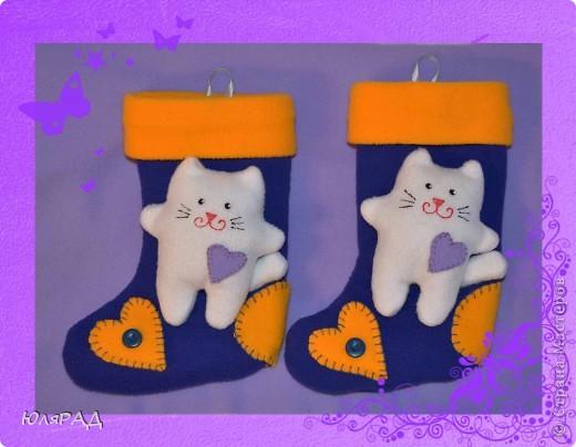 Ещё одни носочки для новогодних подарков))) фото 1
