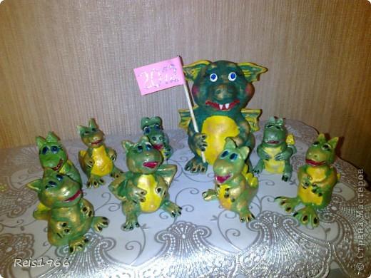 Семейство драконов фото 2