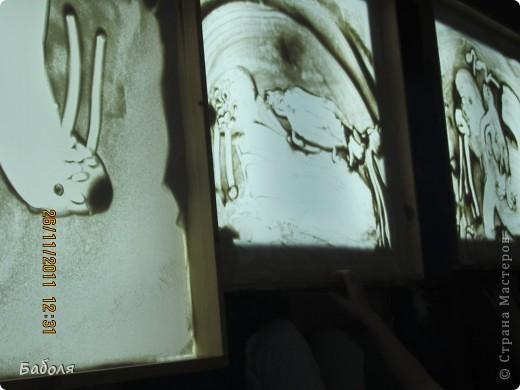 Ура! начался новый учебный год. Рисование песком интересно и детям , и взрослым. фото 8