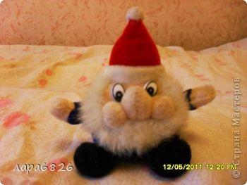 Приветик всем,вот и мой малютка дед-мороз гномчатый =)!!!!спасибо всем кто зашёл и оставил комментарий!!! фото 1