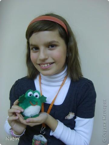 По-моему этот лягушонок готов обнять весь мир! фото 2