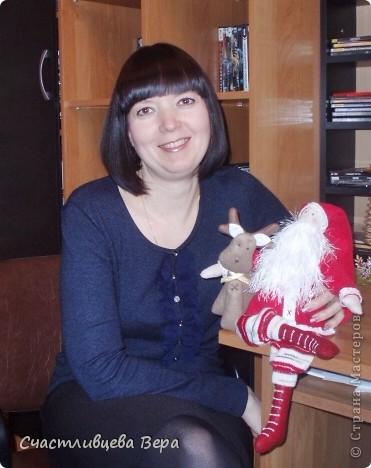 Я и Санта.