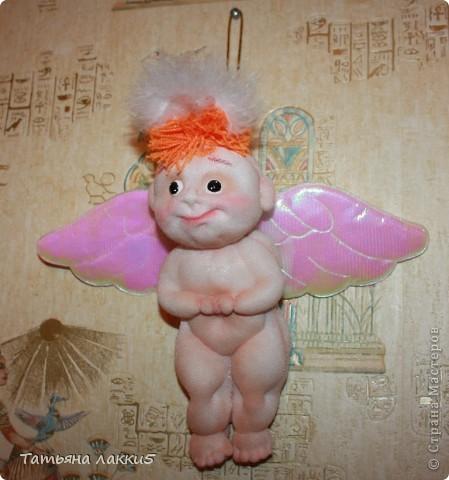 Хотела сделать ангела, а получился мудрый волшебник из страны Мастеров фото 3