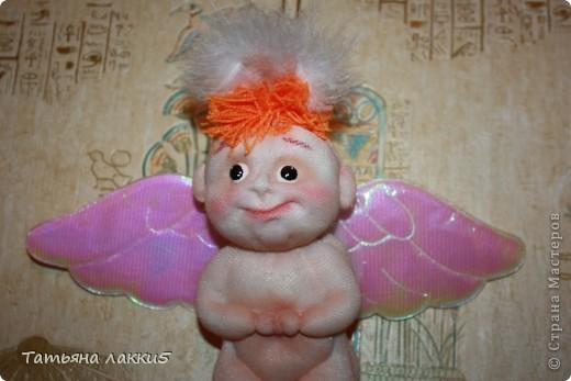 Хотела сделать ангела, а получился мудрый волшебник из страны Мастеров фото 4