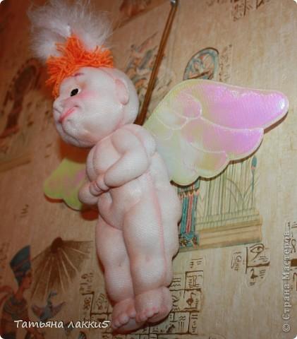 Хотела сделать ангела, а получился мудрый волшебник из страны Мастеров фото 6