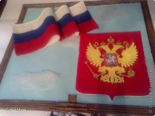 Флаг россии своими руками фото