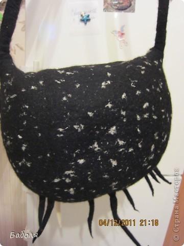 """Моя сумка-тыква стала мерзнуть. На смену ей пришла сумка """"сосулечная"""". Так назвала её моя внучка. фото 4"""