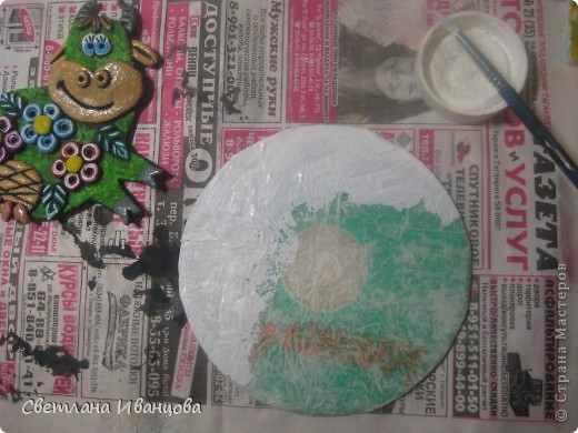 Поделка изделие Лепка Магнит на холодильник и другие Тесто соленое фото 3