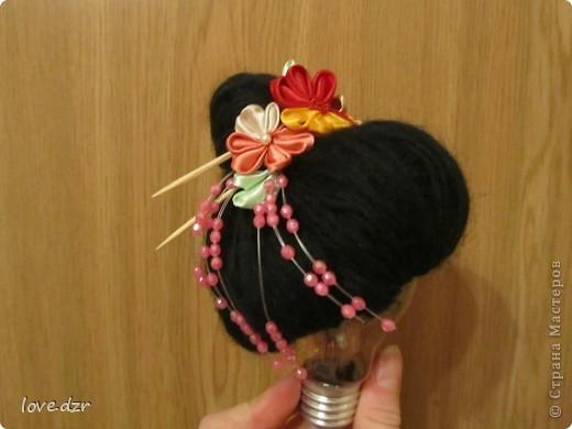 Кимоно и парик сделано мной. фото 2