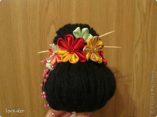 Кимоно и парик сделано мной. фото 3