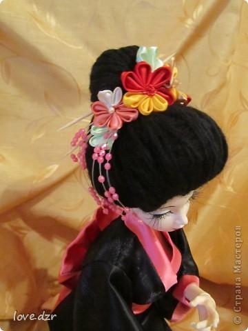 Кимоно и парик сделано мной. фото 5