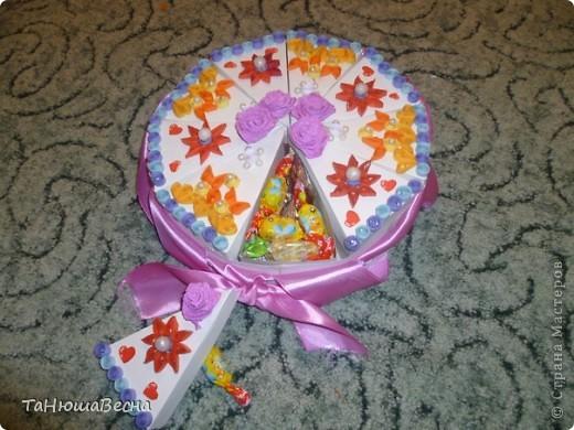 Из чего делают поделки на тортах