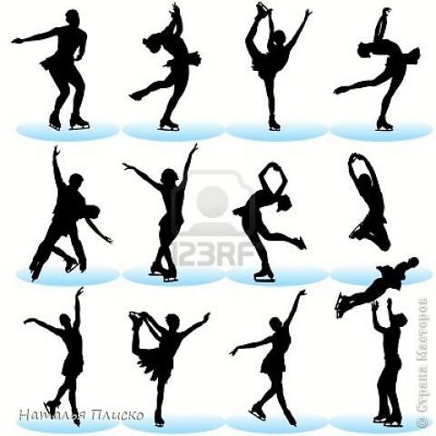 Когда я увидела у na-ta-li снежинки-балеринки - https://stranamasterov.ru/node/280412?c=favorite, потеряла сон и покой, отбросила все дела и давай вырезать, захотелось сделать на работу такое же украшение... А работаю я в управлении физической культуры и спорта, поэтому заменила балерин на фигуристок, получились такие вот воздушные спортсменки.. фото 10