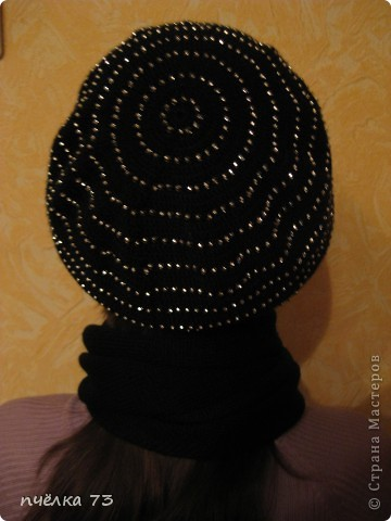 Вязала  шапочку по МК Голубки (https://stranamasterov.ru/node/123392?c=favorite). Спасибо огромное за то, что вы делитесь с нами описанием. фото 6