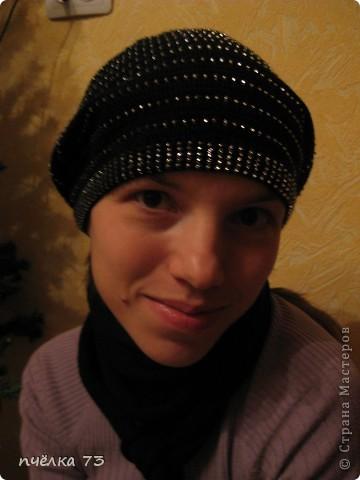 Вязала  шапочку по МК Голубки (https://stranamasterov.ru/node/123392?c=favorite). Спасибо огромное за то, что вы делитесь с нами описанием. фото 4