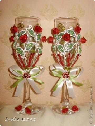 красные розы-символ любви! фото 1