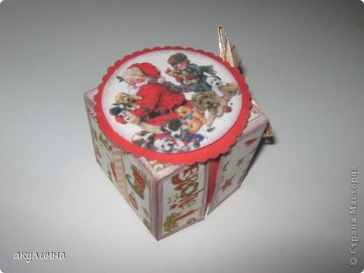 Коробочка сделана вот по этому мк http://whiffofjoy.blogspot.com/2010/07/baby-gift-box-by-inge-groot.html,  фото 2