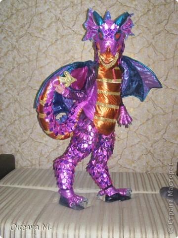 Такой костюм ДРАКОНА получился в этом году. фото 4