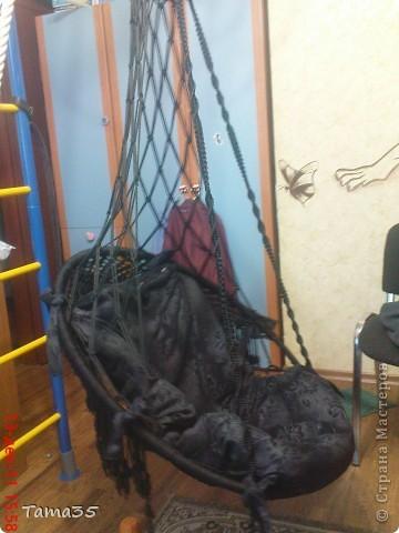 макраме плетение кресло